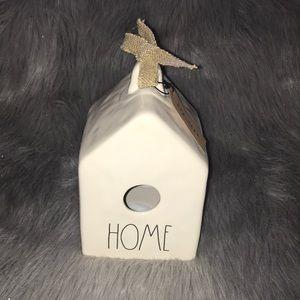 Rae Dunn HOME bird feeder
